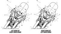 Piaggio đăng ký bản quyền thiết kế hệ thống khí động học thông minh