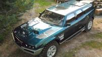 Đây là Uran - Chiếc SUV chế tạo thủ công độc nhất vô nhị với khối động cơ V6 dung tích 16 lít của người Nga