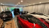 Bức ảnh về garage của trưởng đoàn Car Passion khiến dân mạng há hốc mồm về dàn xe siêu đỉnh