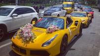 Choáng ngợp với video dàn siêu xe rước dâu trên đường phố Sài thành trong mùa dịch Covid-19
