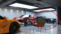 """Biệt thự của Cường """"Đô-la"""" xuất hiện một chiếc Rolls-Royce Wraith lạ bên cạnh siêu xe mới toanh Ferrari F8 Tributo"""