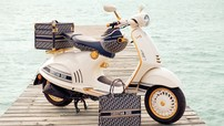 Vespa 946 đã sang nay càng sang hơn với phiên bản giới hạn Christian Dior