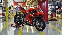 Mô tô siêu nhẹ Ducati Superleggera V4 bắt đầu được sản xuất: Mạnh 224 mã lực, nặng 159 kg và số lượng chỉ 500 xe