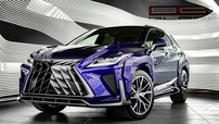 """Cặp đôi SUV hạng sang Lexus RX và NX thêm """"hoang dại"""" dưới tay của người Nga"""