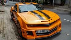 Chevrolet Camaro phiên bản Transformers đời thực ở Sài Gòn