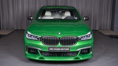 BMW M760Li Rallye Green