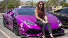 "Lamborghini Huracan độ ""khủng"" của nữ doanh nhân Natalia Itani"