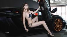 Nữ thần JY. Kiko khoe thân hình tuyệt mỹ bên siêu xe Lamborghini độ