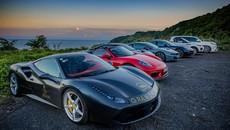 """Ferrari 488 GTB từng của Cường """"Đô-la"""" góp mặt trong đoàn xe """"khủng"""" chạy từ Đà Nẵng đến Nha Trang"""