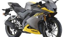 Sport bike Yamaha R15 mới với màu Xám Vàng tuyệt đẹp
