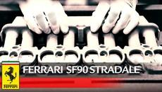 Ferrari bật mí quá trình sản xuất siêu xe hybrid SF90 Stradale