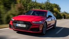 Vén màn phiên bản chỉ tiêu thụ 1,9 lít xăng/100 km của Audi A7 2021
