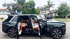 Doanh nhân Sài thành tậu Rolls-Royce Cullinan màu xanh ngọc lục bảo độc nhất Việt Nam, giá hơn 36 tỷ đồng