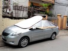 Chống nắng cho xe như thế nào mới tốt?