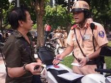 Mức xử phạt vi phạm giao thông không đổi