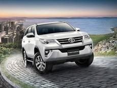 Thái Lan: Toyota Fortuner thêm bản 2.4V 4WD, giá 45.000 USD