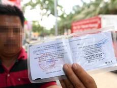 Có thể dùng bản sao có chứng thực Giấy đăng ký ô tô thay cho bản chính