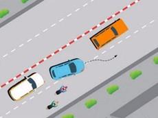 Quy định về việc ô tô chuyển làn khi tham gia giao thông