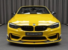 BMW M4 Convertible Speed Yellow
