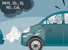 Cảnh báo sự độc hại của khí thải xe hơi