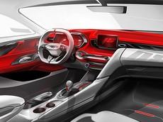 Hyundai Veloster 2019 lộ hình ảnh nội thất cá tính và bắt mắt