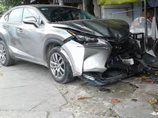Bình Dương: SUV hạng sang Lexus NX200t gây tai nạn liên hoàn khiến nhiều người bị thương nặng