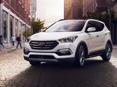 Giá bán Hyundai SantaFe 2018 cập nhật mới trong tháng 1/2018