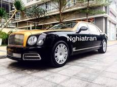 Xe nhà giàu Bentley Mulsanne thế hệ mới đầu tiên cập bến Việt Nam trong năm 2018