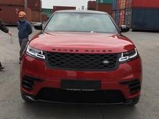 SUV hạng sang Range Rover Velar màu lạ cập bến Việt Nam