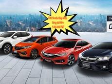 Ô tô Honda nhập  bất ngờ tăng giá bán