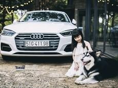 Audi A5 Sportback khác lạ trong ngôi nhà gỗ bên rừng