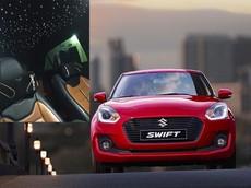 Suzuki Swift cũng có thể lắp trần xe bầu trời sao như Rolls-Royce