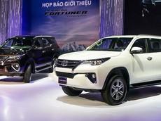 Giá xe Toyota Fortuner 2018 mới nhất tháng 4/2018