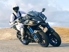 Yamaha khoe xe ba bánh Yamaha Niken với nhiều công nghệ hiện đại