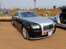 Sau khi trưng bày tại Tây Nguyên, Rolls-Royce Ghost được chủ tịch Trung Nguyên rao bán lại