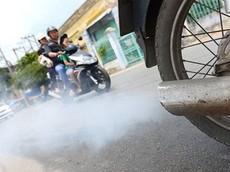 """""""Bắt bệnh"""" xe máy qua màu khói từ ống xả"""