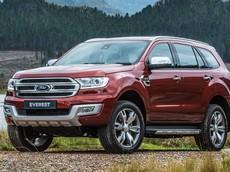Bảng giá xe Ford Everest 2018 mới nhất trong tháng 5/2018