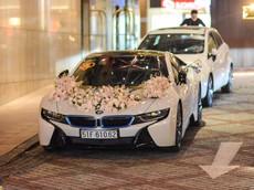 Cận cảnh dàn xe hơn 35 tỷ Đồng tham dự đám cưới của nữ diễn viên Diệp Lâm Anh