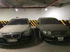 Bentley Continental Flying Spur tiển tỷ phủ bụi tại hầm đỗ xe Hà Nội