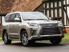 Giá xe Lexus LX 2018 mới nhất tháng 5/2018