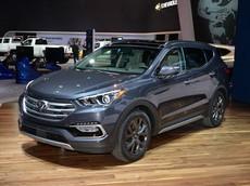 Giá xe Hyundai Santa Fe 2018 mới nhất tháng 5/2018