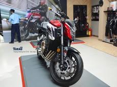Đánh giá nhanh Honda CB650F 2018, naked bike cá tính, giá bán ra 225,9 triệu Đồng