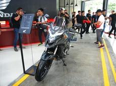 Giá xe Honda CB500X 2018 mới nhất tháng 5/2018
