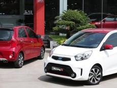 Giá xe Kia Morning 2018 mới nhất tháng 6/2018
