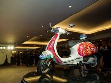 Ngắm chiếc Vespa Sprint trị giá 26.000 USD được đấu giá làm từ thiện