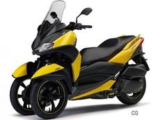 Xe ga phân khối lớn Yamaha Tricity 250 có thể ra mắt cuối năm nay