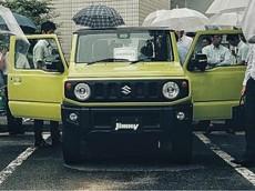 Xe việt dã nhỏ xinh Suzuki Jimny 2019 lộ thông số trước ngày ra mắt