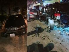 """Đà Nẵng: Tài xế có dấu hiệu """"ngáo đá"""" lái BMW X6 gây tai nạn liên hoàn"""