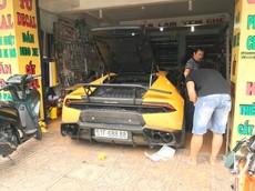 """Lamborghini Huracan LP610-4 độ Mansory, biển """"tứ quý"""" 8 """"làm dâu"""" tại Nha Trang"""
