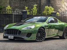 """Siêu xe Aston Martin Vanquish """"lột xác"""" qua bản độ lấy cảm hứng từ """"Người khổng lồ xanh"""""""